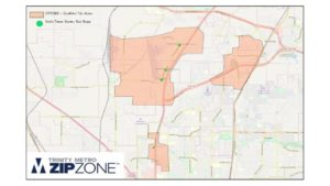 ZipZone Region Map
